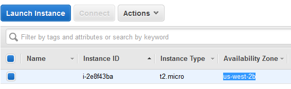Move AWS EC2 instance another Availability Zones