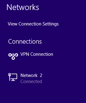 VPN connection is available.